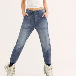 Free People Skye Boyfriend Jeans Joggers NWOT